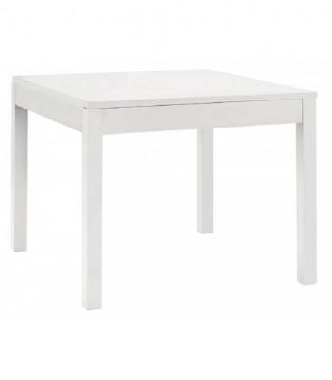Tavolo moderno Fisso Quadrato Bianco opaco
