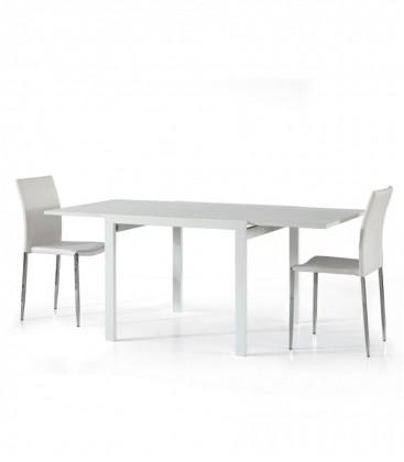 Tavolo Quadrato Bianco Frassino