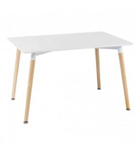 Tavolo moderno bianco legno