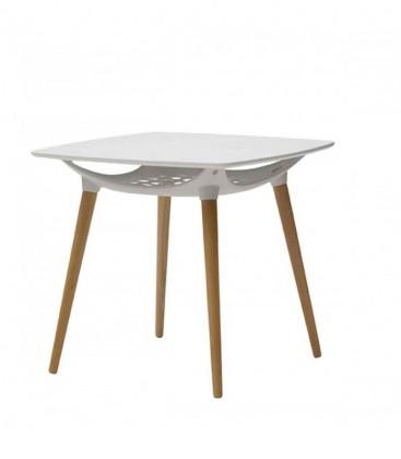 Tavolo struttura polipropilene in legno Bianco