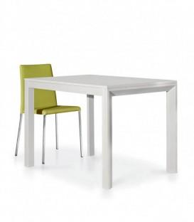 Tavolo Legno Moderno Allungabile Bianco Frassinato