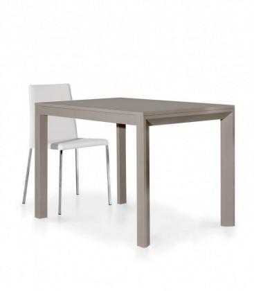 Tavolo design moderno allungabile Tortora