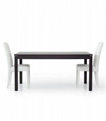 Tavolo allungabile design moderno Moro wengé