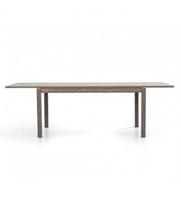 Tavolo allungabile design moderno Rovere Grigio