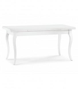 Tavolo Legno Shabby Chic Allungabile Bianco