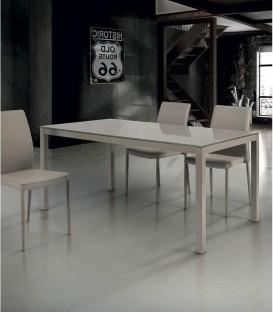 Tavolo Moderno Allungabile 120 X 90 Larice Spazio Casa