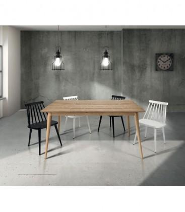 Tavolo in Legno design moderno allungabile Naturale