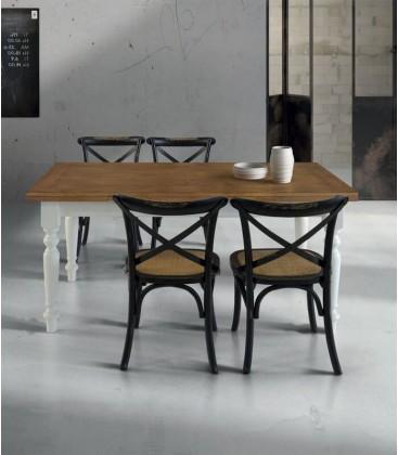 Tavolo legno con Piano Rovere
