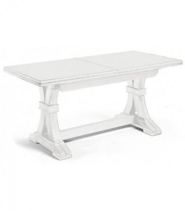 Tavolo pranzo classico legno Bianco