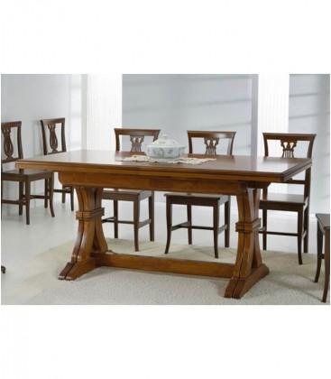 Tavolo pranzo classico legno Noce Bassano