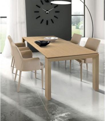 Tavolo design moderno in legno Naturale