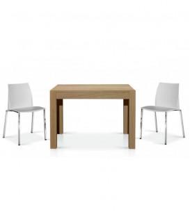 Tavolo Moderno Rovere Naturale 110 x 80