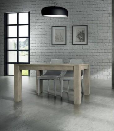 Tavolo in Legno Massello Rovere Patinato
