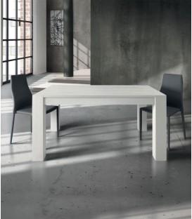 Tavolo in legno allungabile Bianco