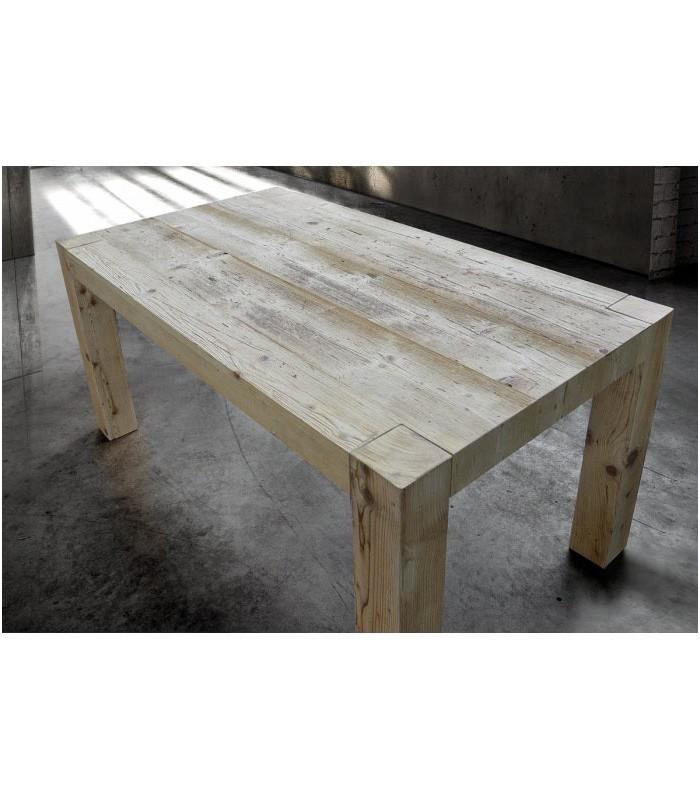 Tavolo in Legno Massello vecchio prima patina - Spazio Casa