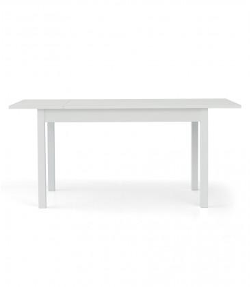 Tavolo rettangolare bianco frassinato allungabile