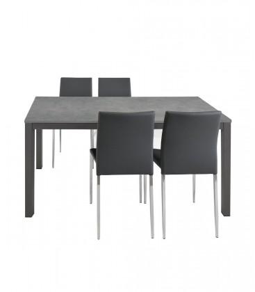 Tavolo allungabile Moderno Grigio Antracite