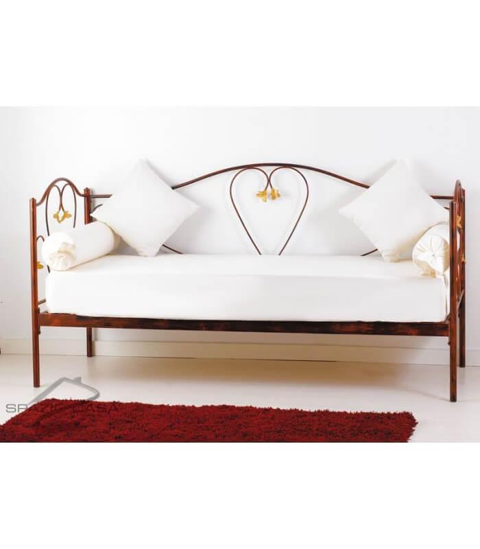 Dovano letto in ferro la scelta giusta variata sul - Divano letto in ferro battuto ikea ...