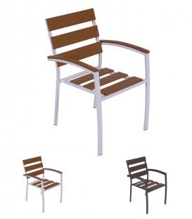 Sedia struttura in Alluminio da giardino