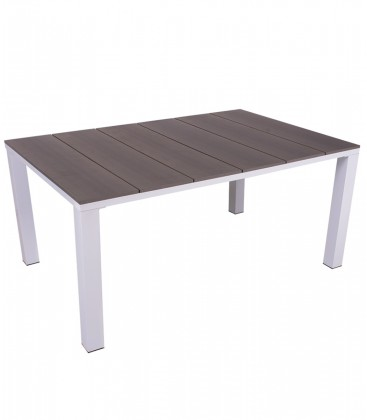 Tavolo per esterno in acciaio Chelsey