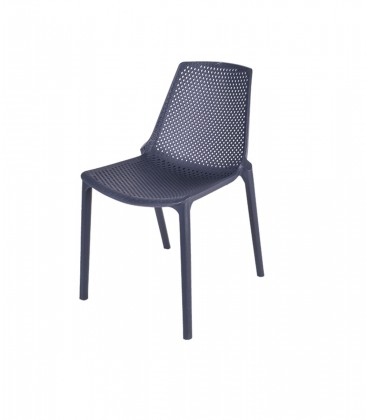 Sedia barcellona per esterno in acciaio