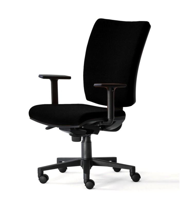 Sedia per ufficio FIVE nera - Spazio Casa