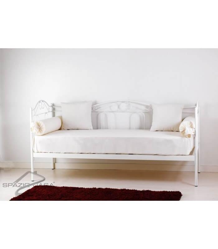 divano letto in ferro battuto flora