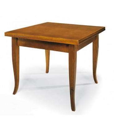 Tavolo legno allungabile quadrato Noce