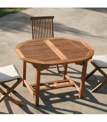 Tavolo da giardino in legno Lipari