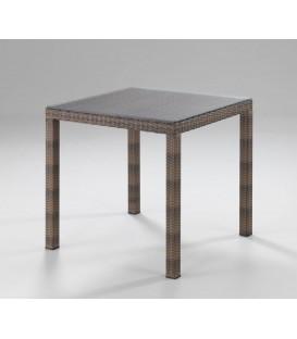 Tavolo quadrato da esterno IKARO Bianco