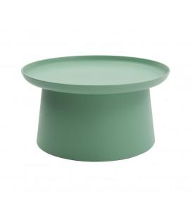 Tavolino Rotondo Polipropilene Verde