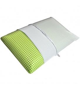 Cuscino modello saponetta in memory e aloe 70 x 40 cm H. 15 cm