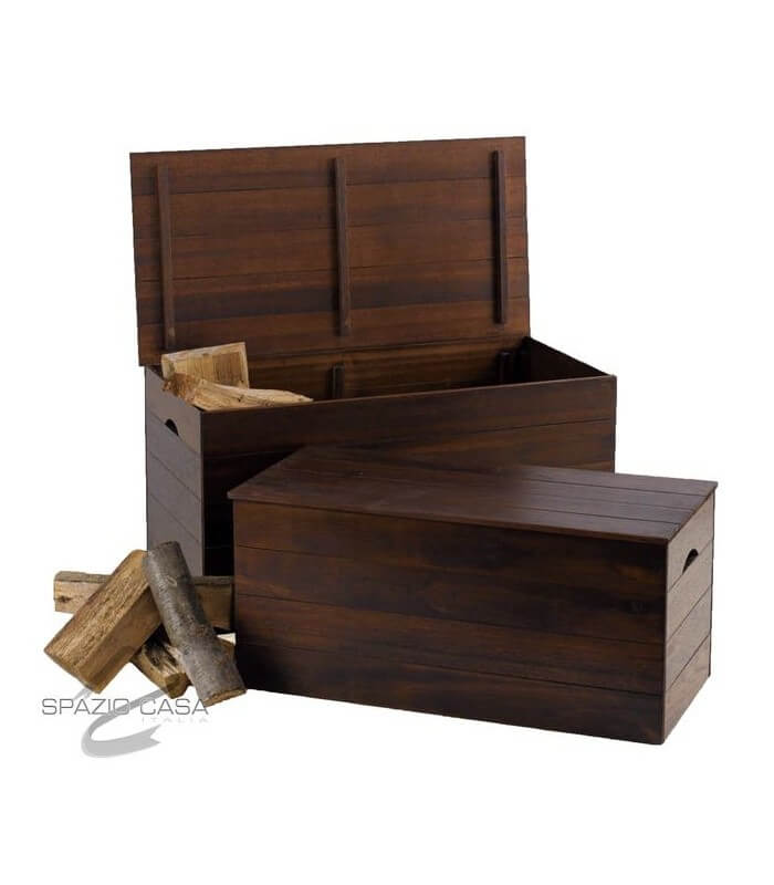 Cassapanca in legno set 2 pz for Cassapanche in legno