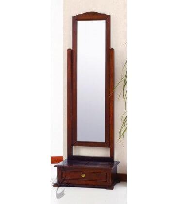 Specchio da terra con cassetto