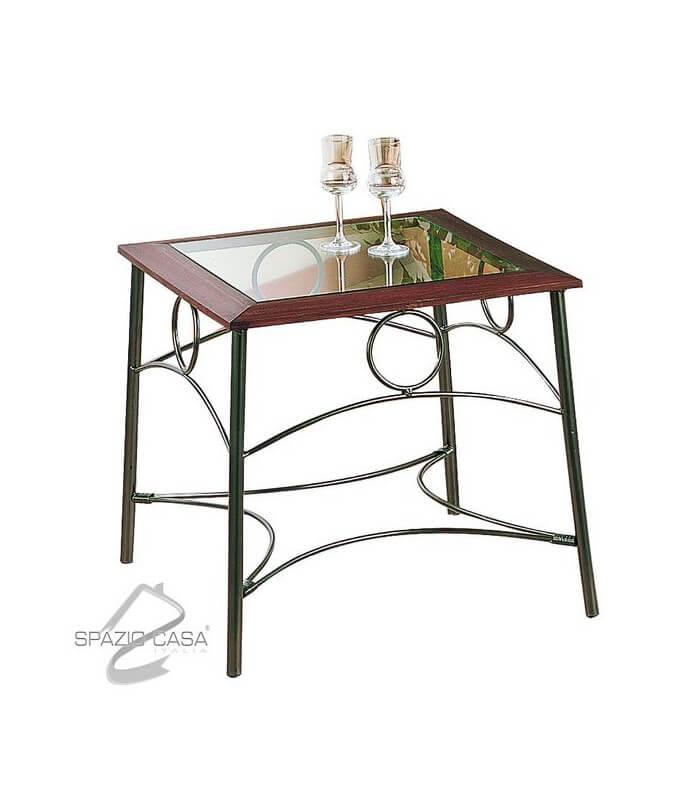 Tavolini In Ferro Battuto : Tavolino stile liberty in ferro battuto