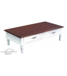 Tavolino da Salotto Basso con Cassetti