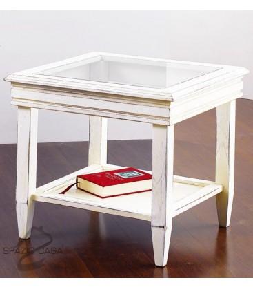 Tavolino da salotto in legno 50 x 50