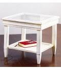 Tavolino con Piano in Vetro
