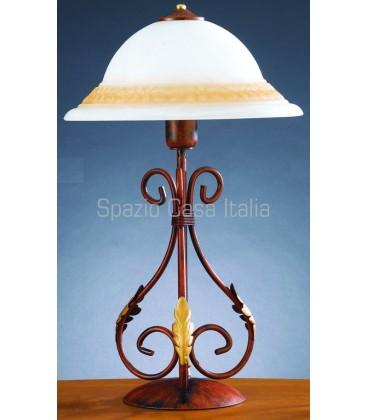 Lampada da tavolo bombata Ø 30
