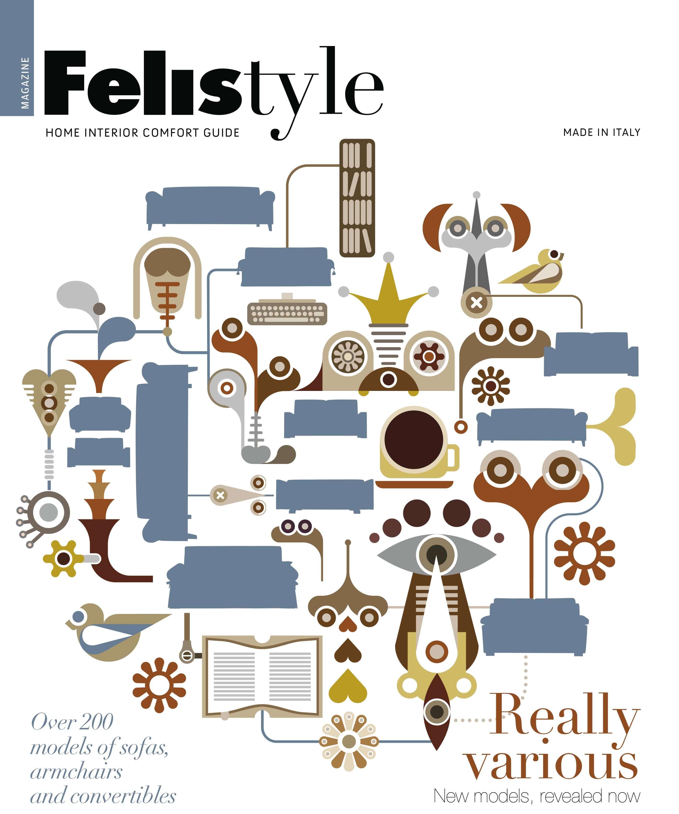 Catalogo divani letto e poltrone - Felis Style