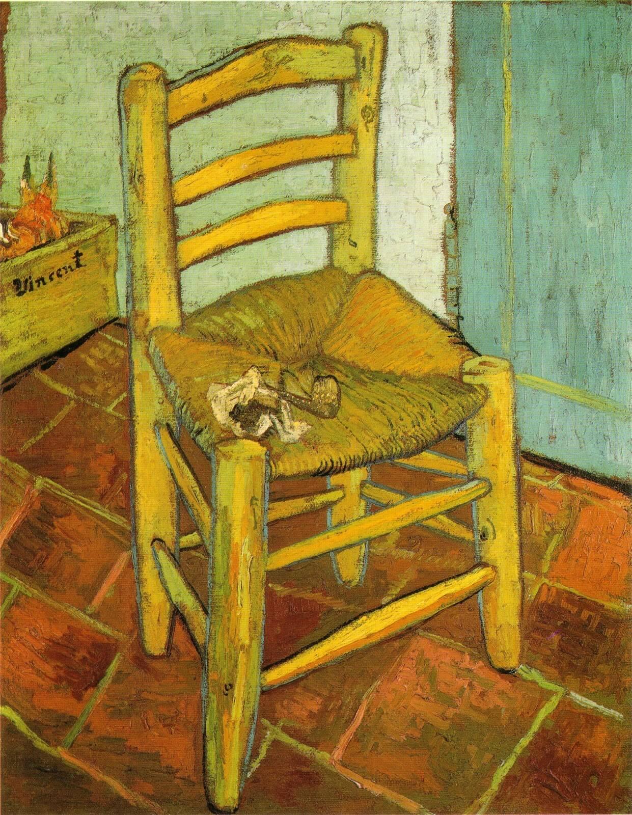 """Dipinto """"La sedia di Vincent"""""""