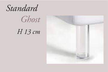 Piedini letto standard ghost felis