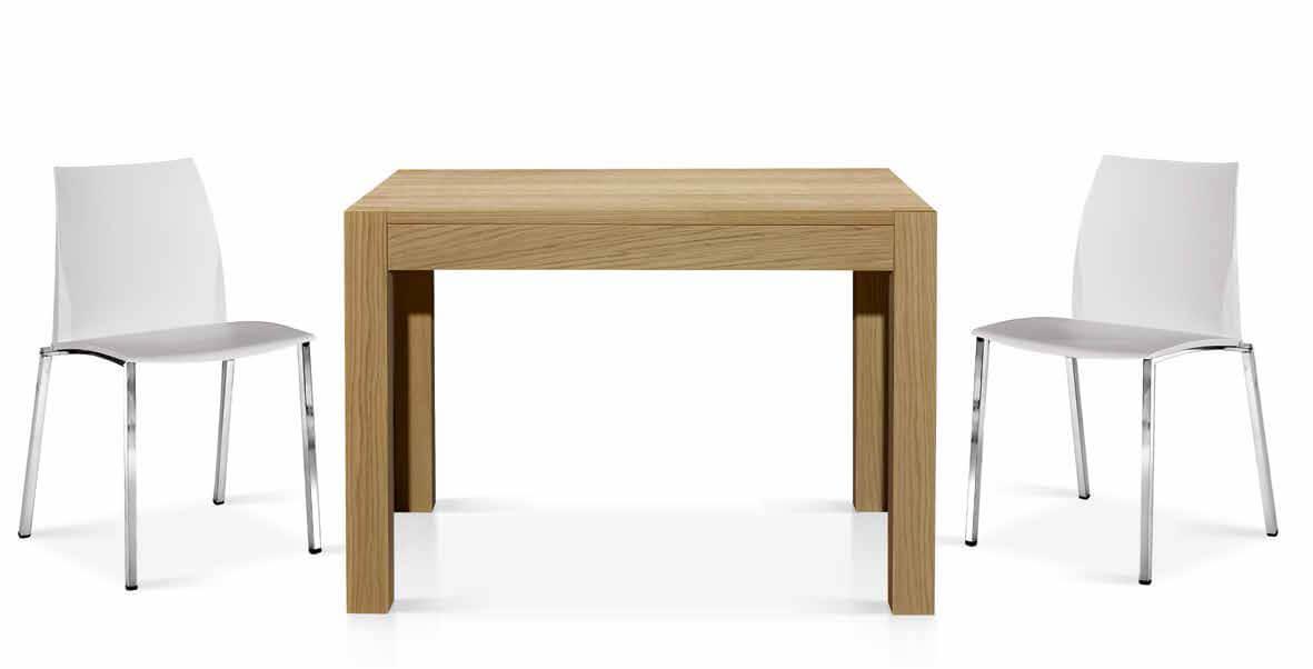 Sedia moderna tavolo rovere