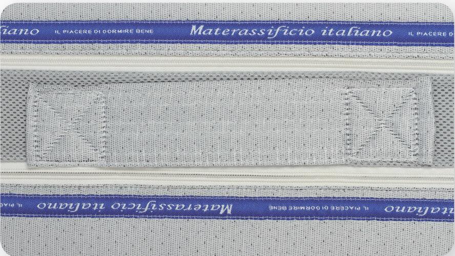 Maniglie materasso multionda tre strati