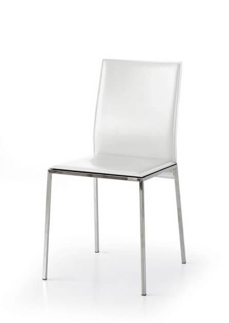 sedia-moderna-imbottita-ecopelle-bianca-
