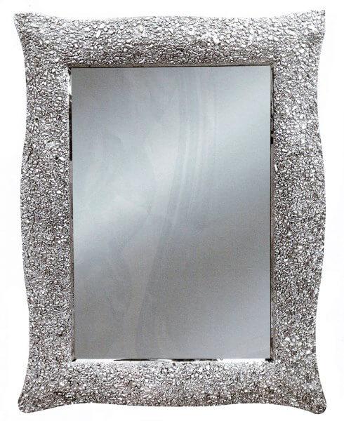 Specchiera moderna cornice ondulata