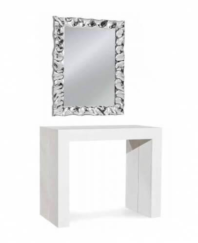 Consolle + specchio moderno arredo ingresso
