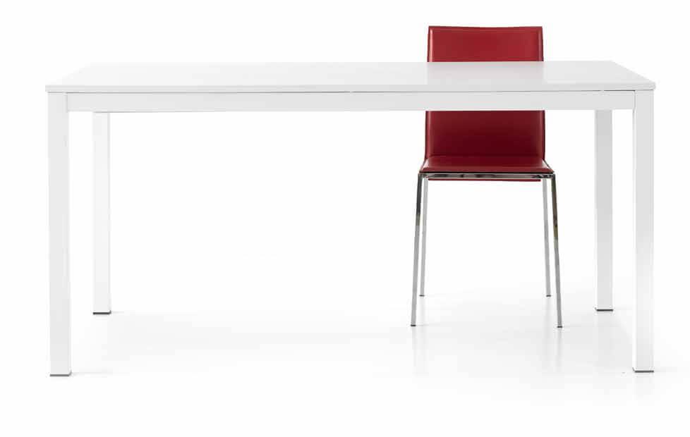 Tavolo frassinato bianco