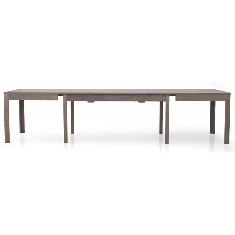 Tavolo laminato rovere grigio allungabile
