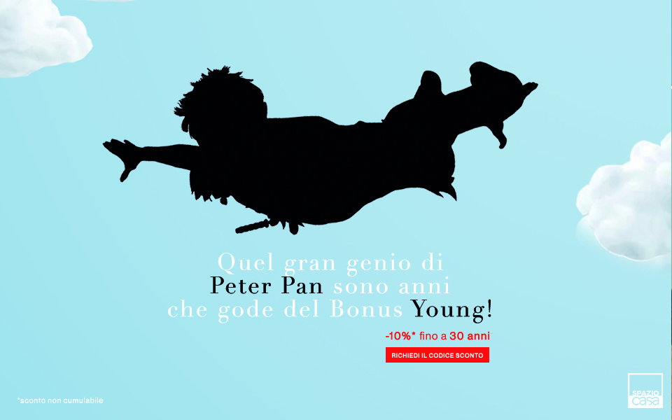 Bonus Young Spazio Casa Sconto -10%
